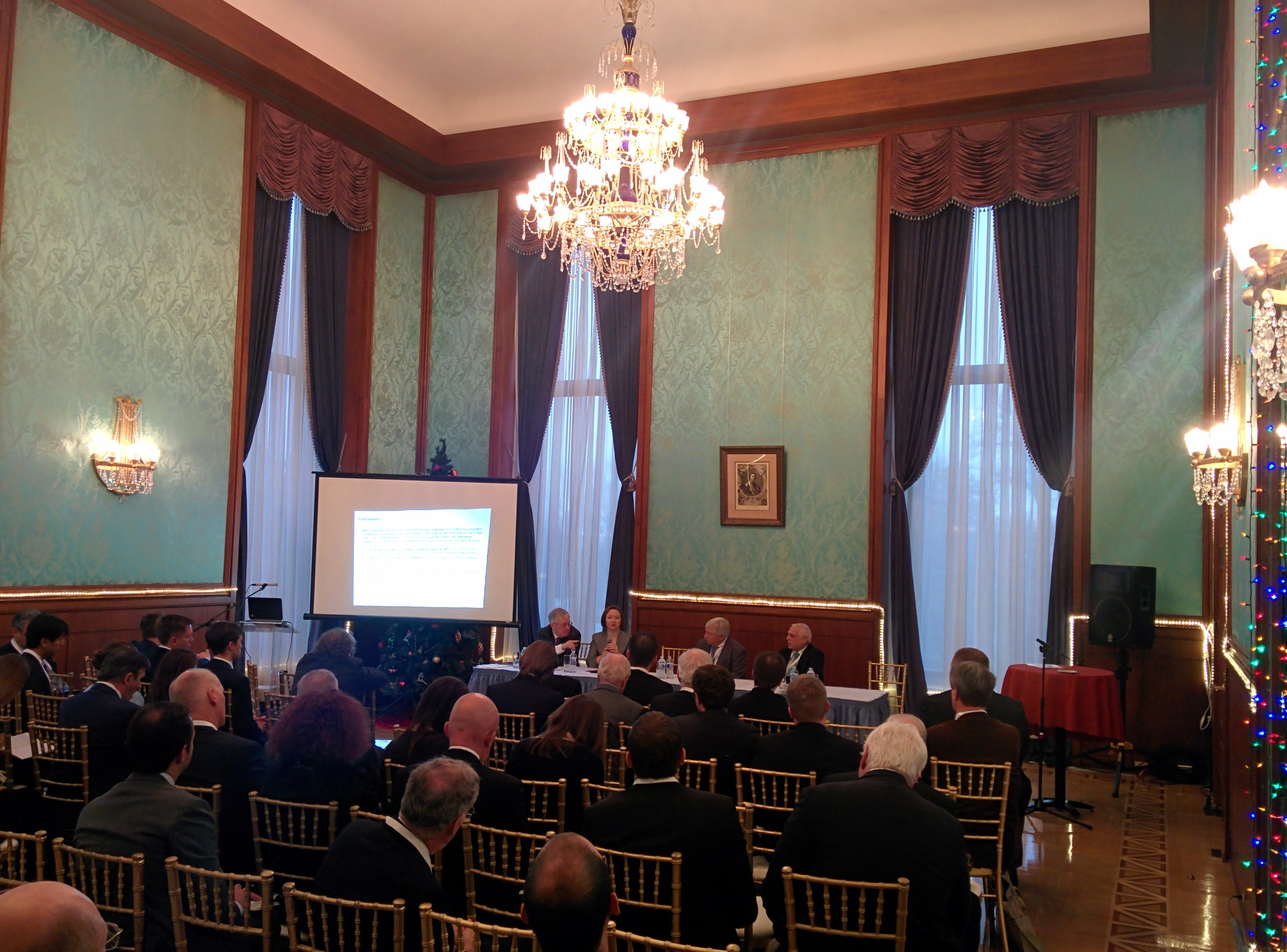 Presentations from Russian Embassy Event Posted - EPRINC