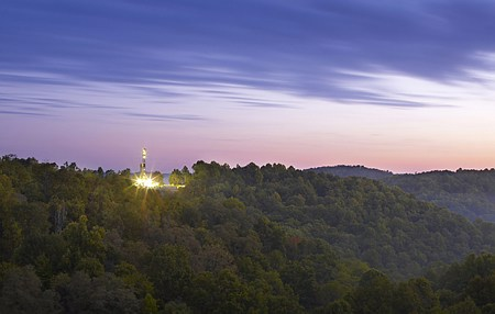 Natural Gas Rig in Appalachia